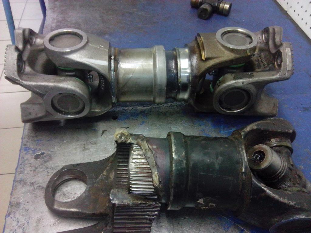 камаз 6522, ремонт вала, карданный вал, кардан, восстановление, Брянск