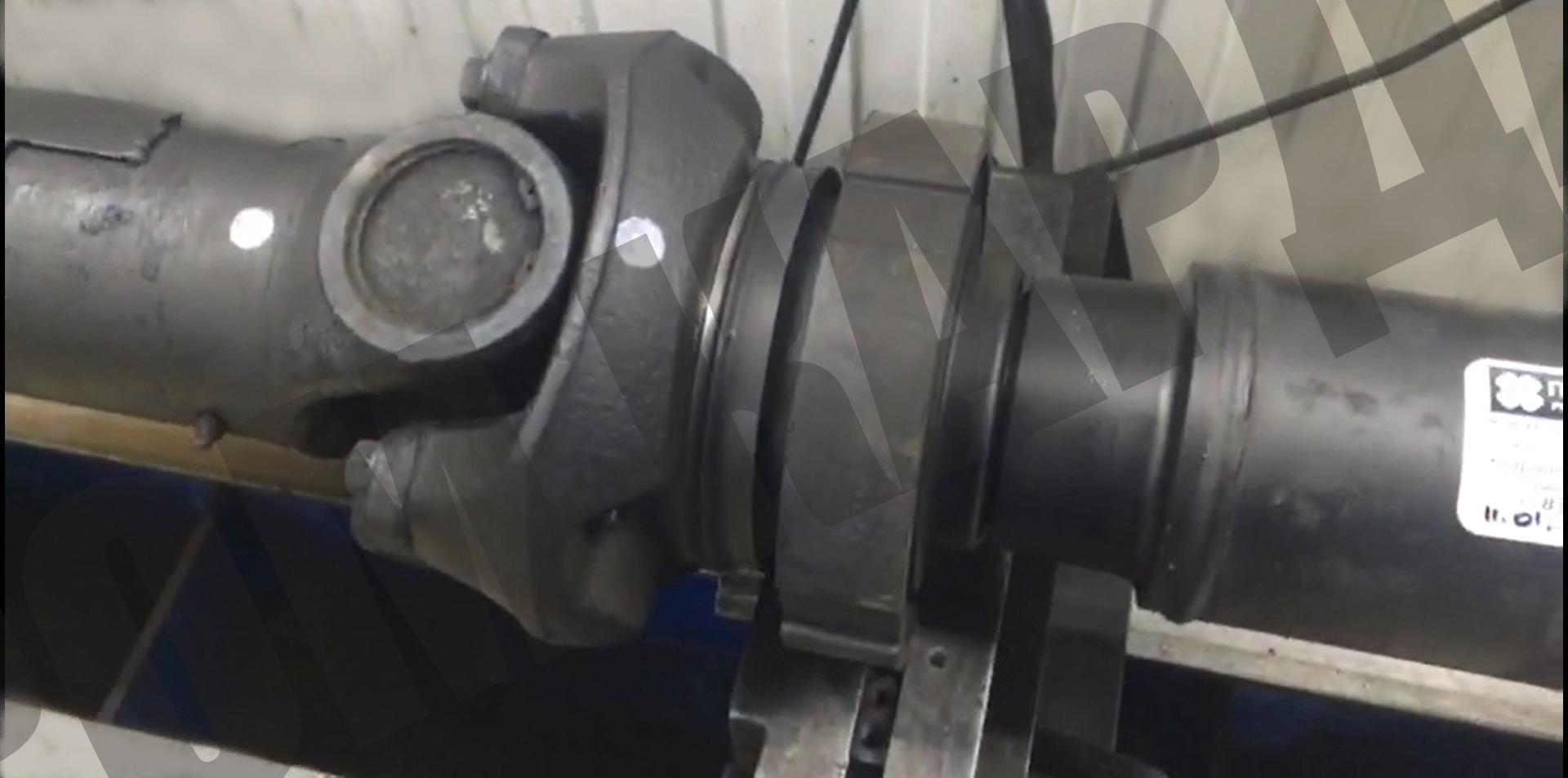 Ремонт карданного вала Scania 113